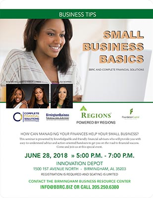 flyer for tips for small businesses