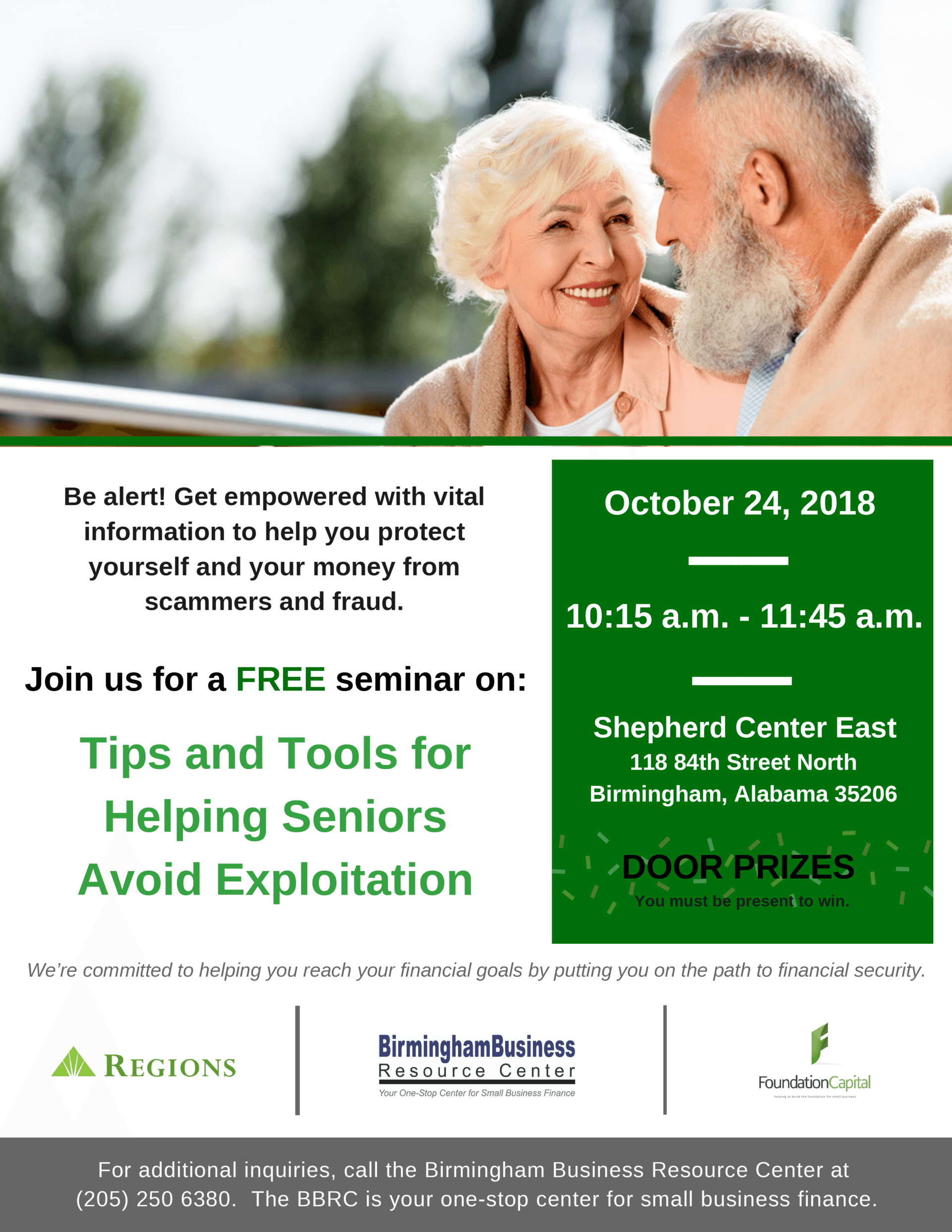 flyer for Tips and Tools for Helping Seniors