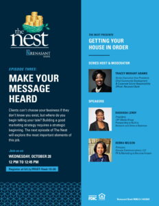 The Nest_Oct 28 Getting Your House In Order Webinar Ad-1