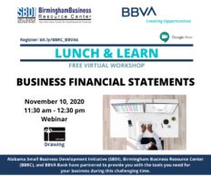 BBVA Workshop 11.10.20