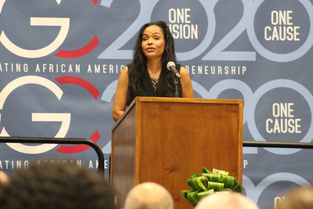 Maggie Anderson Emphasizes Power of Black Dollar at AG Gaston Conference
