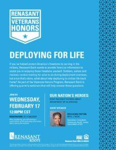 Renasant Honoring Veterans 2.17.21